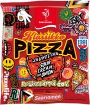 Saarioinen Jauheliha Sour Cream & Onion Pizza, Jauheliha-Ananaspizza 200G