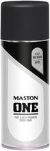 Maston One Spraymaali Musta 400Ml Ral 9005