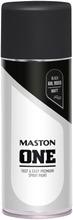 Maston One Spraymaali Matta Musta 400Ml Ral 9005