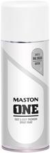 Maston One Spraymaali Valkoinen 400Ml Ral 9010