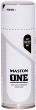Maston One Spraymaali Matta Valkoinen 400Ml Ral 9010