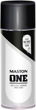 Maston One Spraymaali Kiiltävä Musta 400Ml