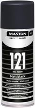 Maston Colormix Spraymaali Matta Musta 121 400Ml Ral 9005