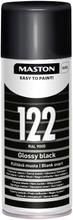 Maston Colormix Spraymaali Musta 122 400Ml Ral 9005
