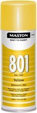 Maston Spraymaali Keltainen 801 400Ml Ral 1003