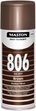Maston Colormix Spraymaali Ruskea 806 400Ml Ral 8017