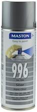 Maston Spraymaali Hopea 996 400Ml Ral 9006