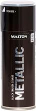 Maston Metallic Spraymaali Musta 400Ml