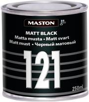 Maston Colormix Matta Musta 121 250Ml