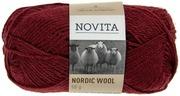 Novita Nordic Wool 50g lanka tumma rubiini 590