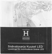 House Sisävalosarja Kuuset 10Led