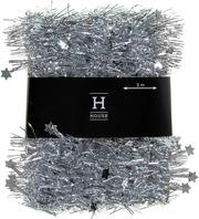 House koristepunos tähdillä, loop, hopea, 50 mm