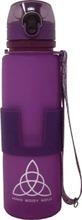 Bms Juomapullo Silikoni 0,65L Violetti