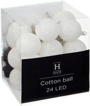 House Cotton Ball Ulko...