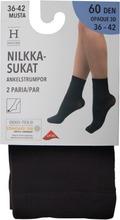 House Naisten Nilkkasukat 60Den 3D Opaque 2-Parin Pakkaus Zd3d60ho