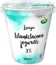 Arla Lempi 300g 3% islantilainen laktoositon jogurtti