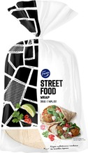 Fazer Street Food Wrap 7Kpl 315G, Rieska