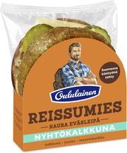 Oululainen Reissumies Eväsleipä Kaura 135G Nyhtökalkkuna Kalkkuna-Juusto-Maustekurkku Täytetty Kauraleipä