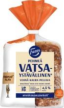 Fazer Vatsaystävällinen* Pehmeä Vehnä-Kaura-Pellava Lofo 300G Viipaloitu Sekaleipä Sulatettu