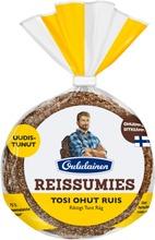 Oululainen Reissumies Tosi Ohut Ruis 5 Kpl 175 G Täysjyväruisleipä