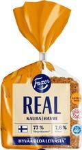 Real Kaura 380g täysjyväkauraleipä