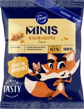 For Minis Kaurasipsi Taco 150 G