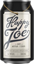 Happy Joe Dry Apple Siideri 4,7% 0,33 L