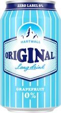 Hartwall Original Long Drink Grapefruit 0% 0,33 L
