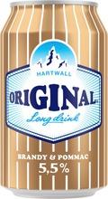 Hartwall Original Long Drink Brandy 5,5% 0,33 L Ei Til.koodi