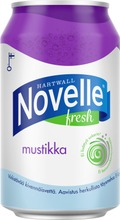 Hartwall Novelle Fresh Mustikka Kivennäisvesi 0,33 L