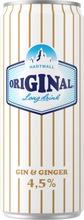 Hartwall Original Long Drink White Label Ginger 4,5% 0,33 L