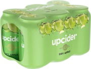 6 X Upcider Dry Apple Siideri 4,7% 0,33 L