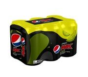 6 X Pepsi Max Lime Vir...