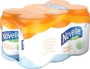 6 X Hartwall Novelle Fresh Mango-Appelsiini Kivennäisvesi 0,33 L