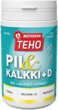Bioteekin Teho Pii Kalkki Ravintolisä 300 Tabl