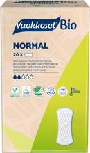 Vuokkoset 100% Bio Normal Pikkuhousunsuoja 26 Kpl