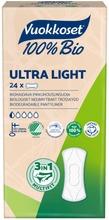Vuokkoset 100% Bio Ultra Light Pikkuhousunsuoja 24 Kpl