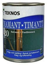 Teknos Timantti 20 Seinämaali 0,9L Pm3 Sävytettävä Puolihimmeä