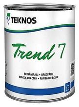 Teknos Trend 7 Seinämaali 0,9L Pm3 Sävytettävä Himmeä