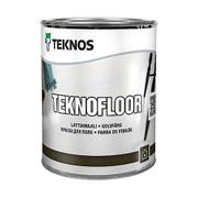 Teknos Teknofloor Lattiamaali 0,9L Pm1 Valkoinen Sävytettävissä Kiiltävä