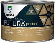 Teknos Futura Aqua 3 Tartuntapohjamaali Pm1 0,45L Valkoinen Sävytettävissä Täyshimmeä
