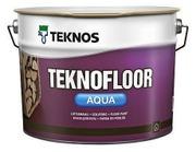Teknos Teknofloor Aqua Lattiamaali 9L Pm3 Sävytettävä Puolikiiltävä