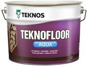 Teknos Teknofloor Aqua Lattiamaali 9L Pm1 Valkoinen Sävytettävissä Puolikiiltävä