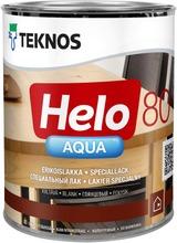 Teknos Helo Aqua 80 Erikoislakka 0,9L Väritön Sävytettävissä Kiiltävä