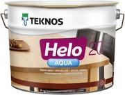 Teknos Helo Aqua 20 Erikoislakka 9L Väritön Sävytettävissä Puolihimmeä