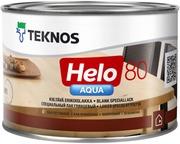 Teknos Helo Aqua 80 Erikoislakka 0,45L Väritön Sävytettävissä Kiiltävä
