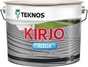 Teknos Kirjo Aqua Peltikattomaali 10L T2515 Musta