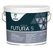 Teknos Futura Aqua 5 Kalustemaali Pm1 2,7L Valkoinen
