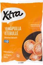Villähteen, X-Tra Vehnäpulla, Esipaistettu 12 X 50 G, Pakaste
