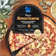 Kinkku-Ananas-Homej Pizza